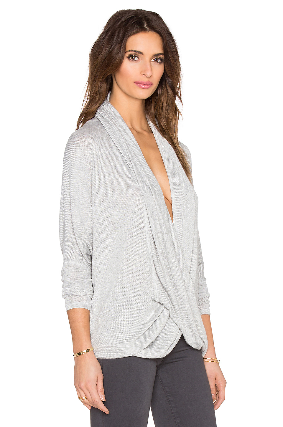 0c4519bd0032 Lyst - Free People Sheila Hacci Top in White