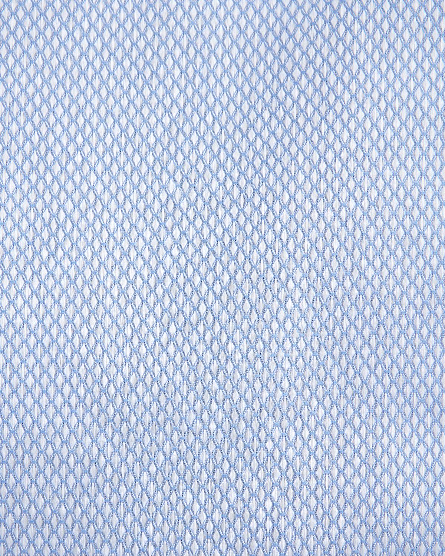 Lyst neiman marcus trim fit non iron dobby weave dress for Men s dobby shirt