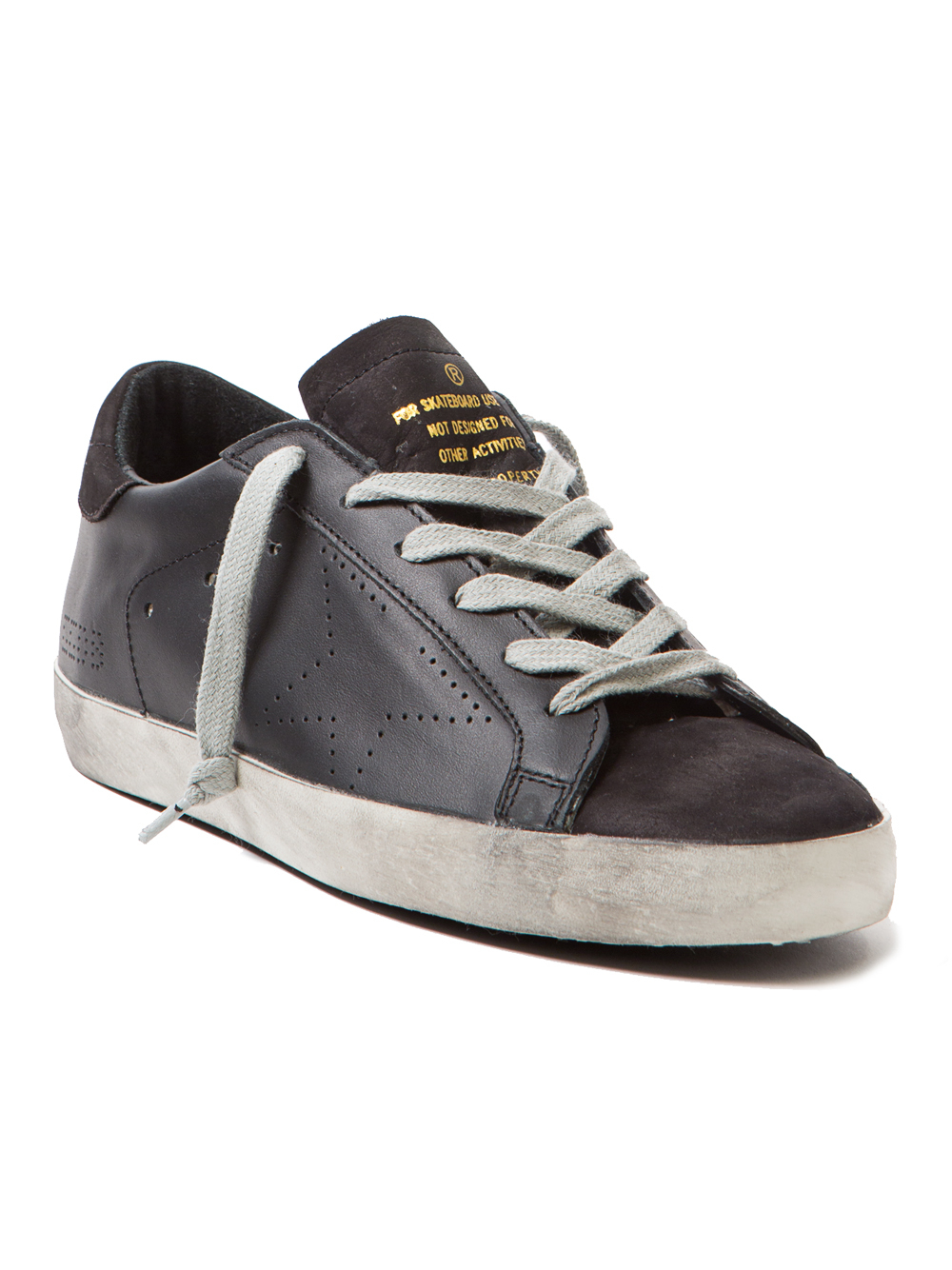 reputable site f73c3 228ca Lyst - Golden Goose Deluxe Brand Superstar Leather Low-Top Sneakers ...