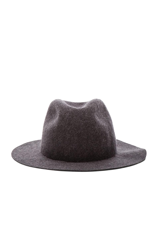 round felt hat - Black Comme Des Gar?ons 2HPNm