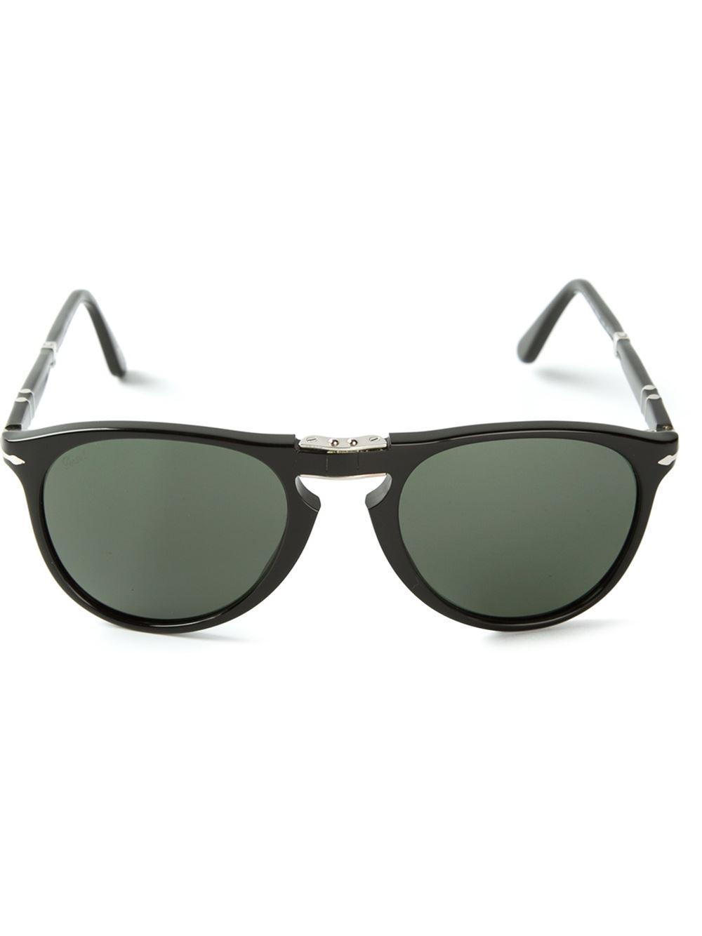 bbf70e94ab3 Lyst - Persol  steve Mcqueen  Foldable Sunglasses in Black