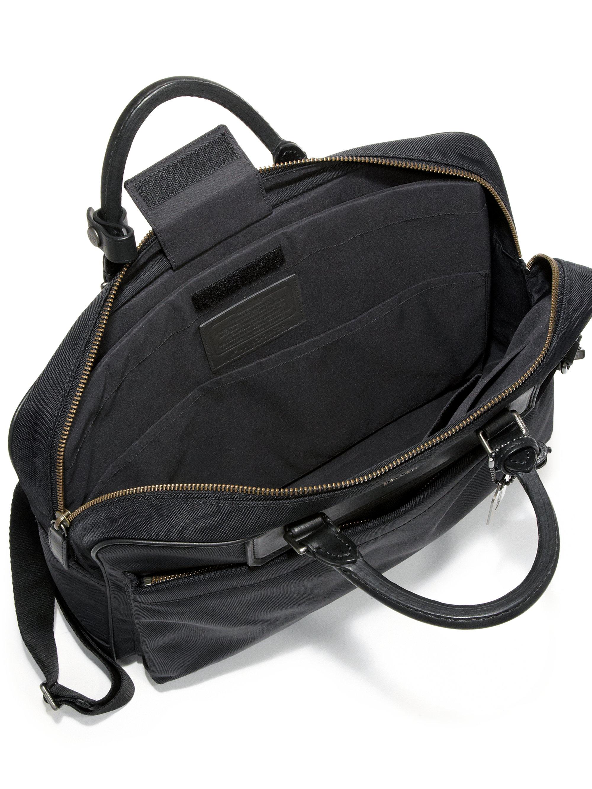 Lyst Coach Metro Briefcase In Black For Men