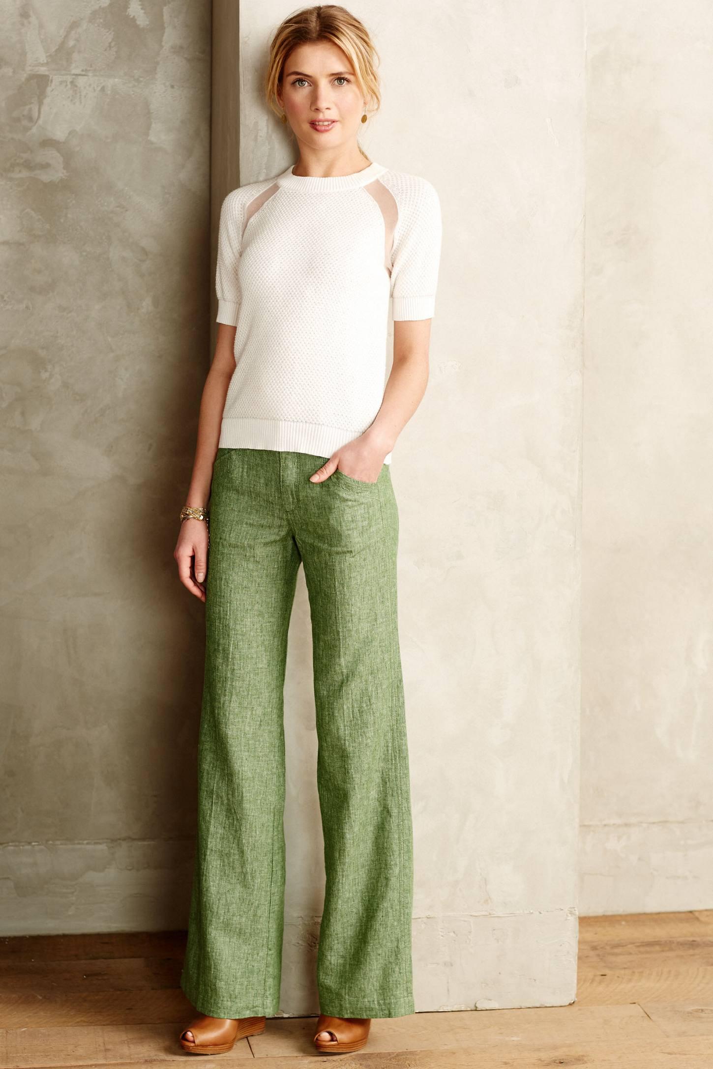 Linen Trouser Pants Si Pant