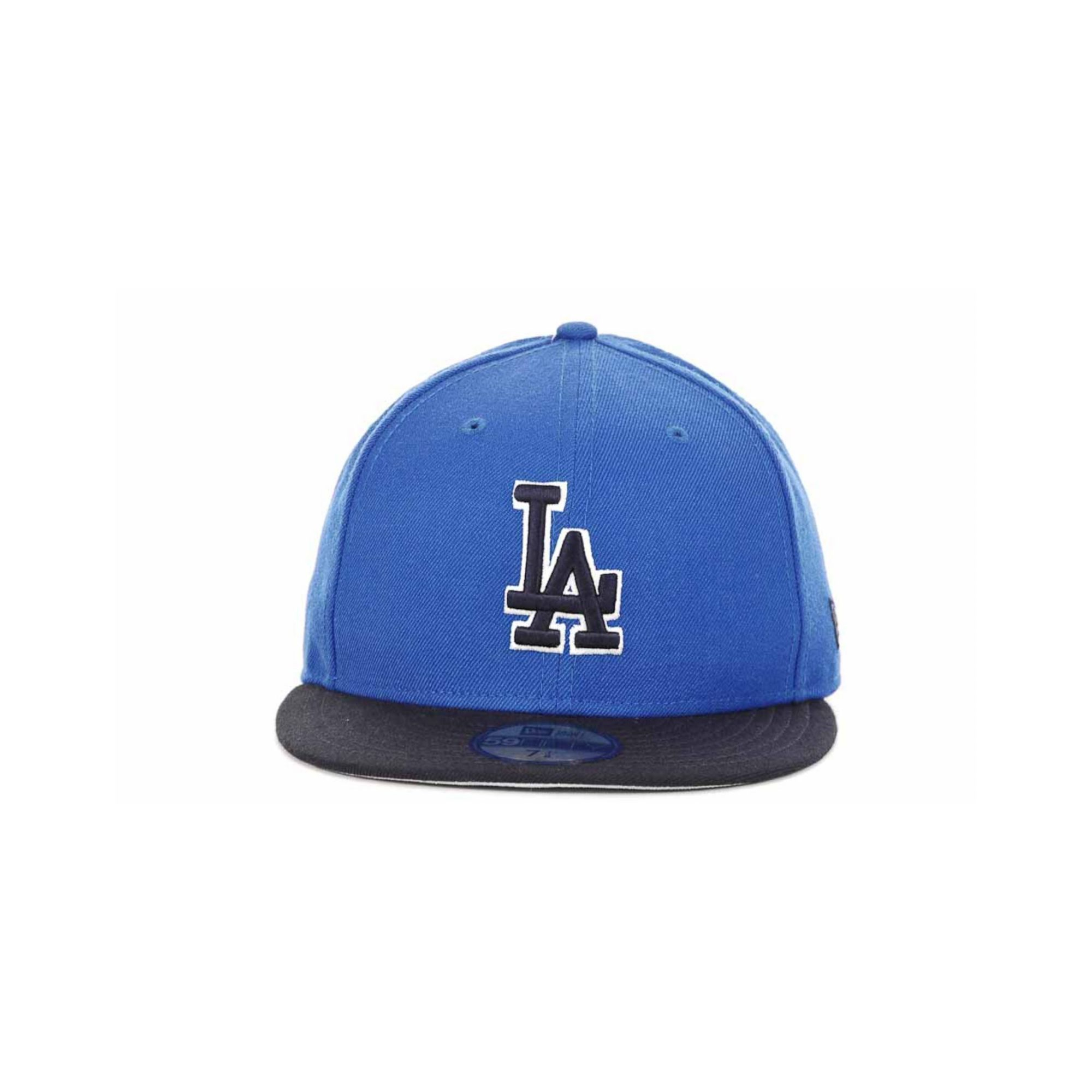8255f537eed Lyst - Ktz Los Angeles Dodgers Mlb 2t Custom 59fifty Cap in Blue for Men
