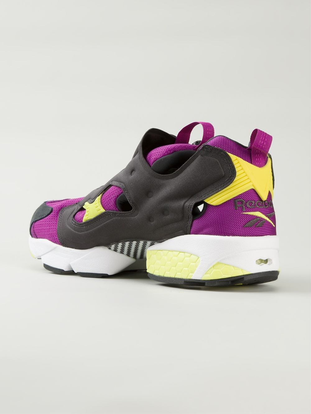 reebok insta pump fury og in pink for men pink purple lyst. Black Bedroom Furniture Sets. Home Design Ideas