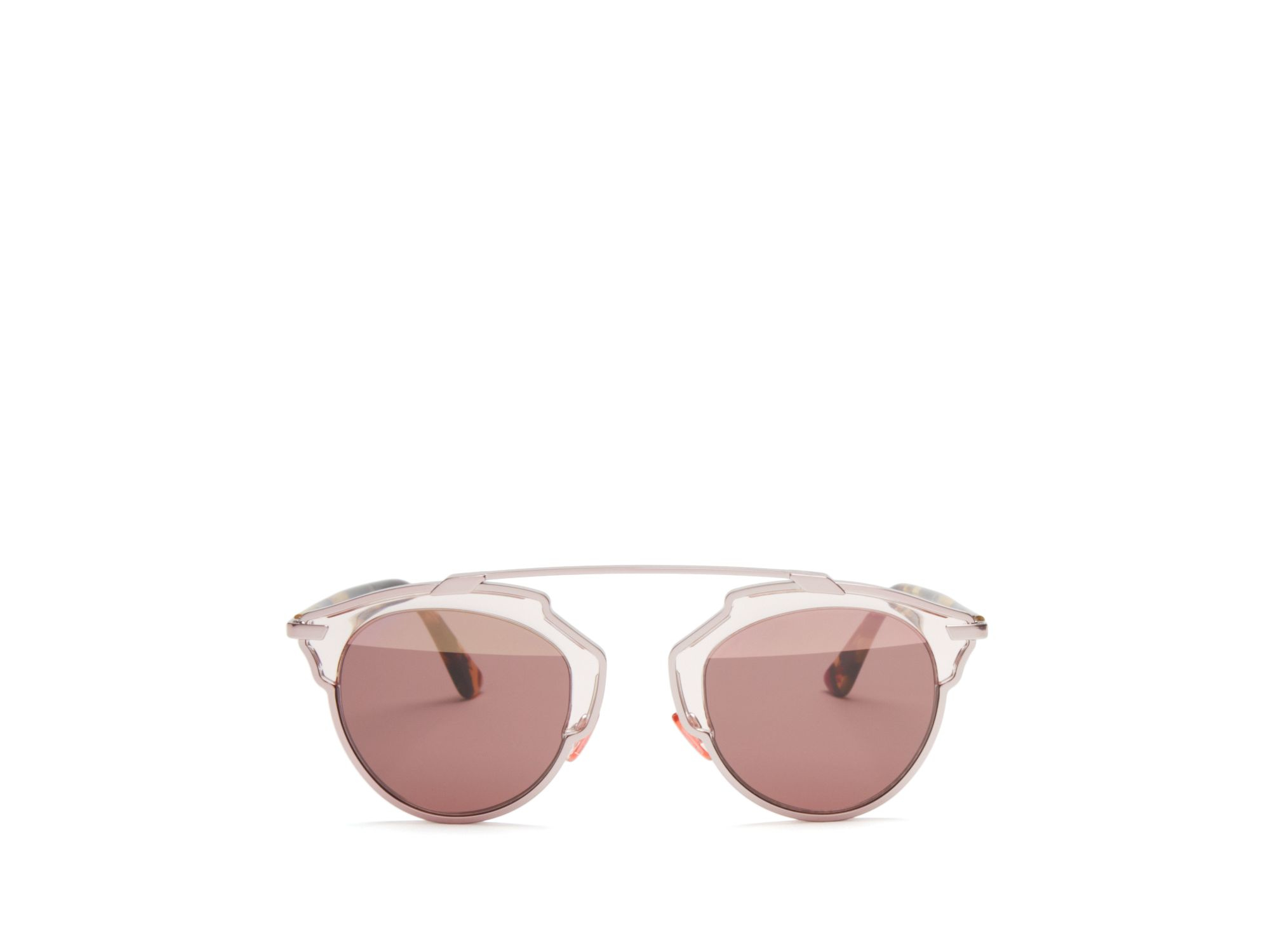 Dior So Real Mirrored Sunglasses In Pink Lyst