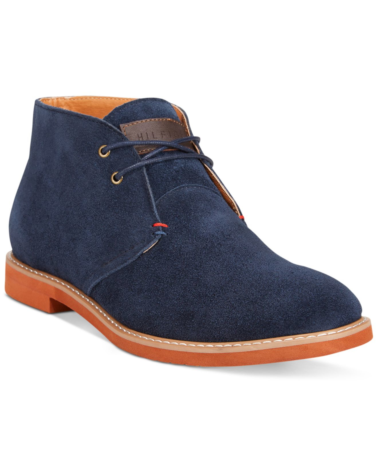 tommy hilfiger stetsen high boots in blue for men lyst. Black Bedroom Furniture Sets. Home Design Ideas