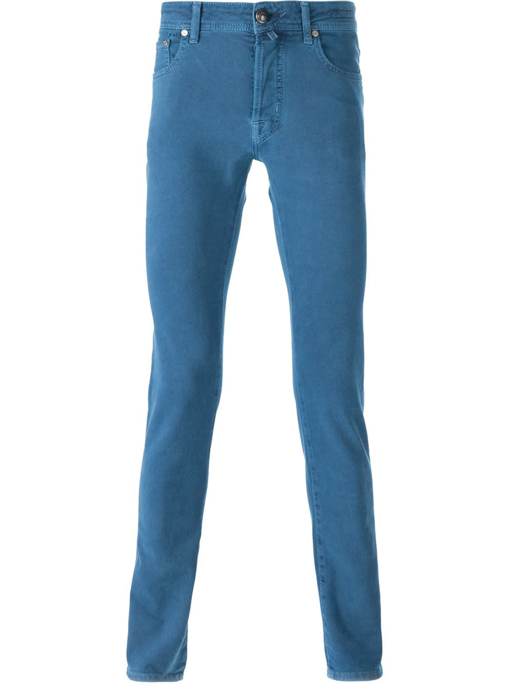 jacob cohen slim fit jeans in blue for men lyst. Black Bedroom Furniture Sets. Home Design Ideas