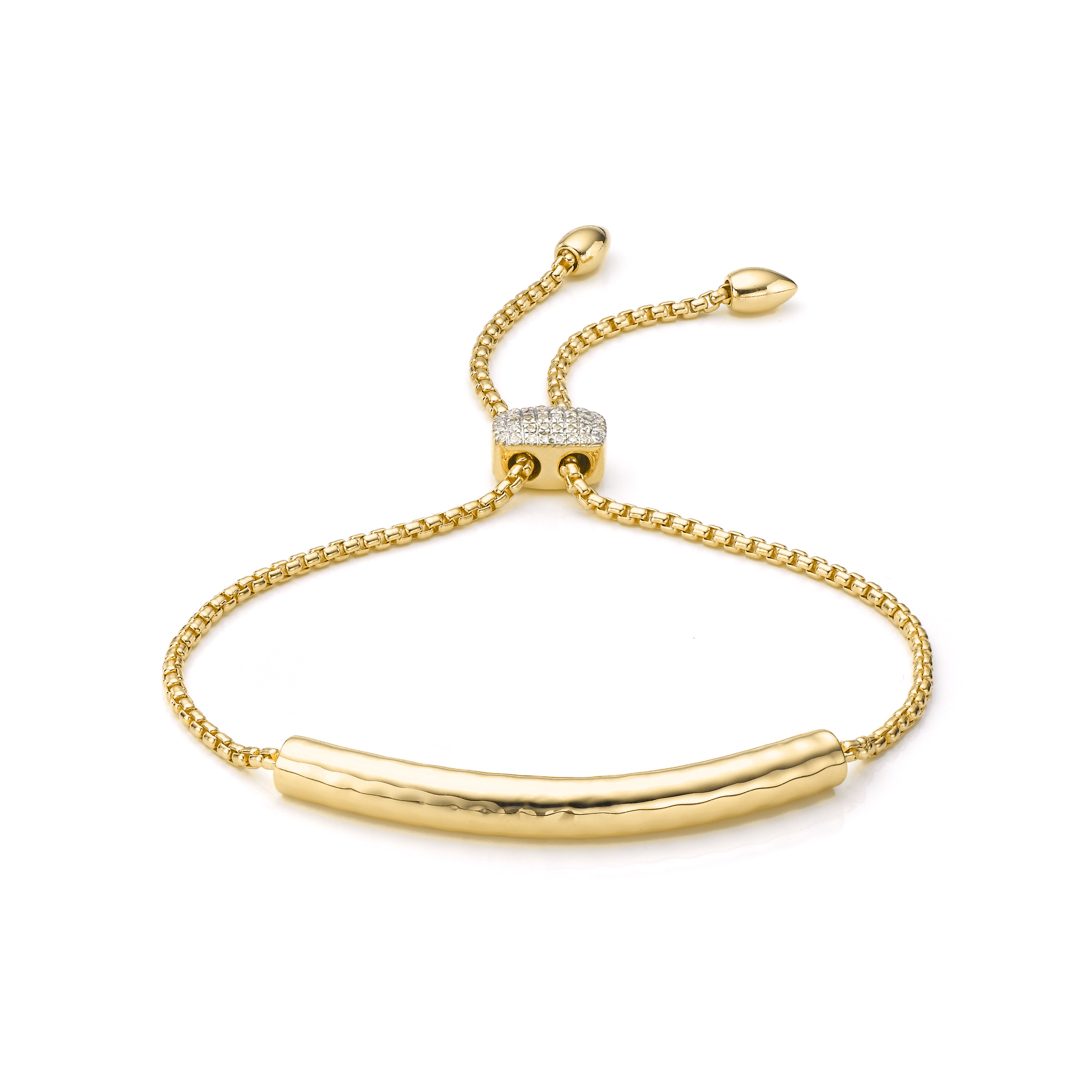 vinader esencia toggle bracelet in metallic