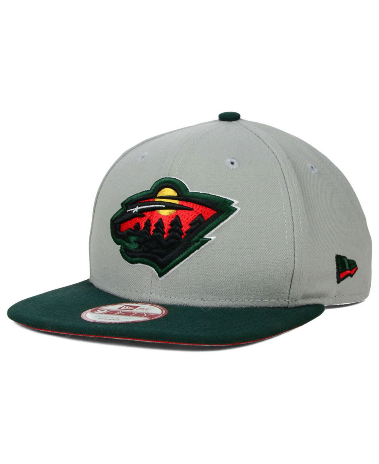 best sneakers 677d8 ee186 ... top quality lyst ktz minnesota wild bright ice up 9fifty snapback cap  in gray 0bb62 56d5e