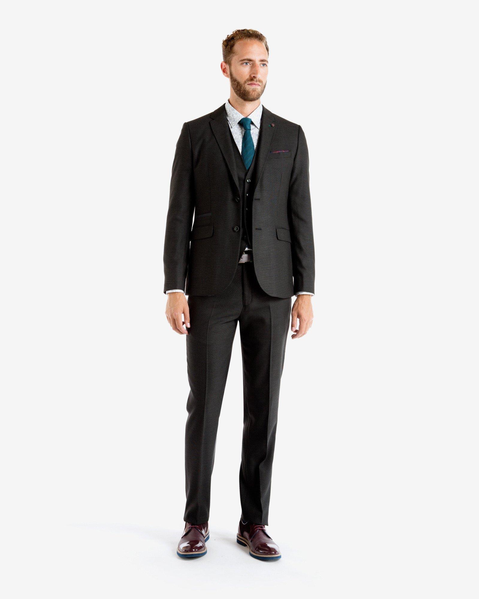 Ted Baker Blue Suit Colour Shoes