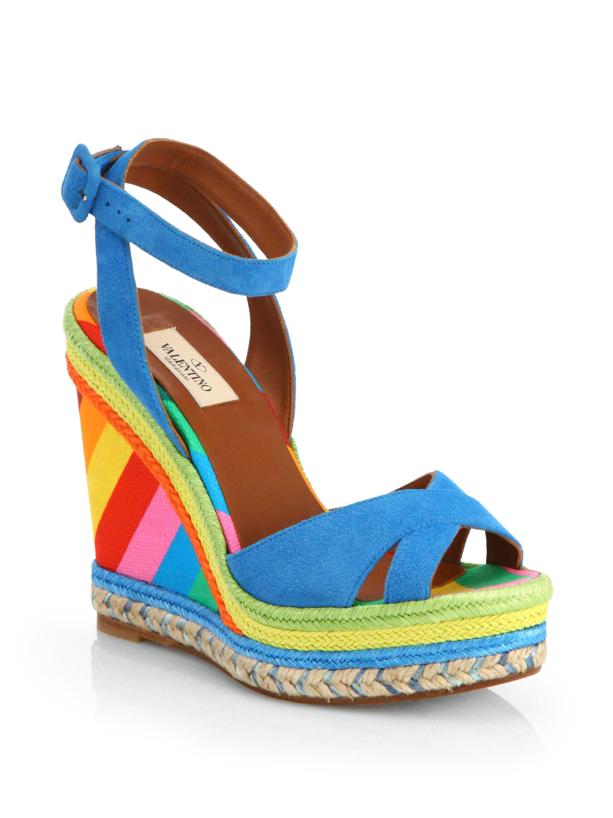 Valentino 1973 Wedge Sandals discount factory outlet clearance reliable 8C59p