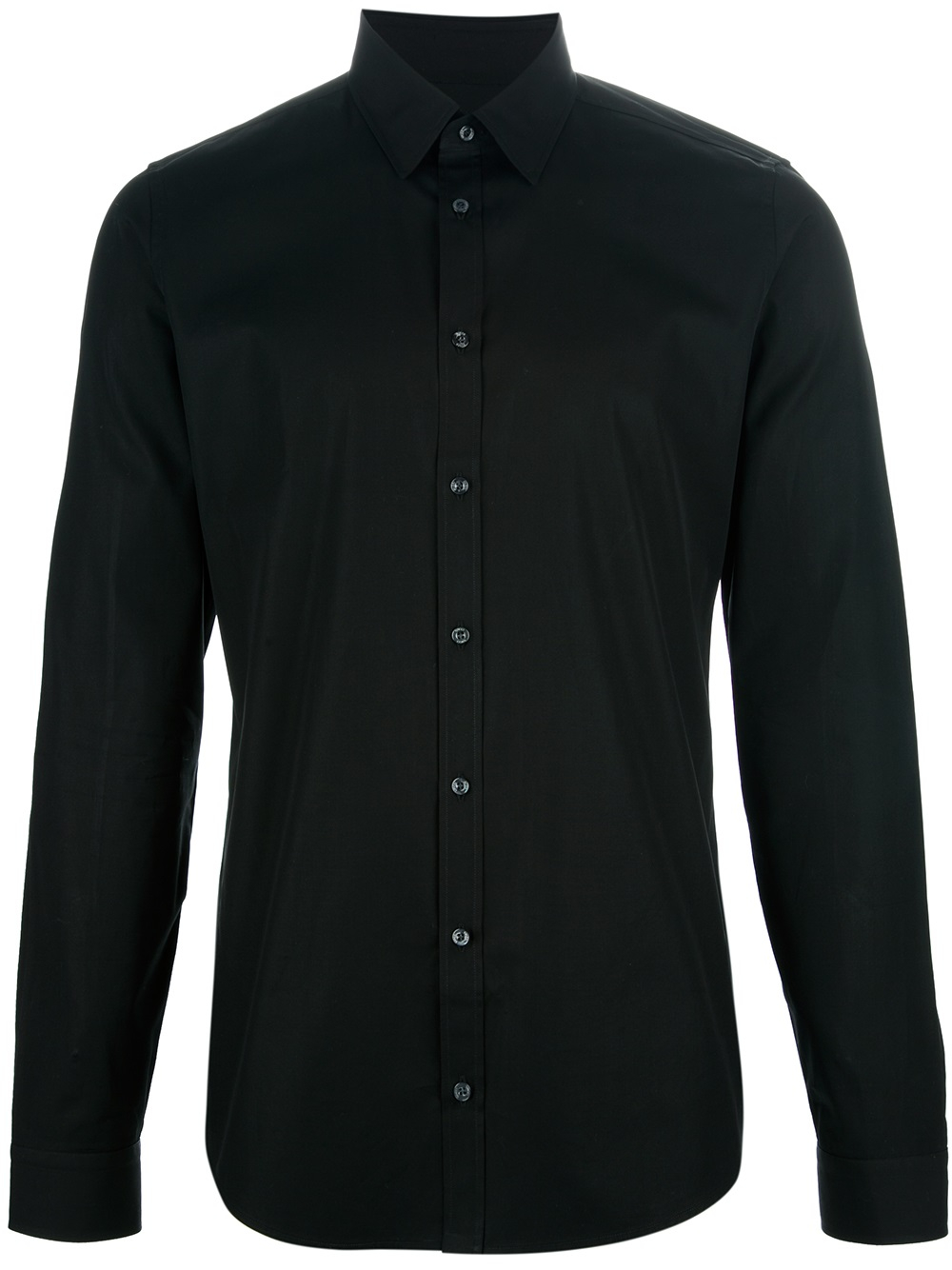 Black Button Down Shirt For Men