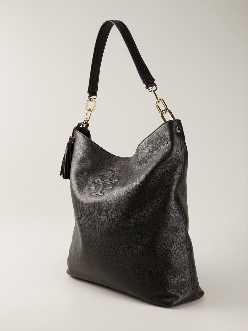 burch thea hobo bag in black lyst