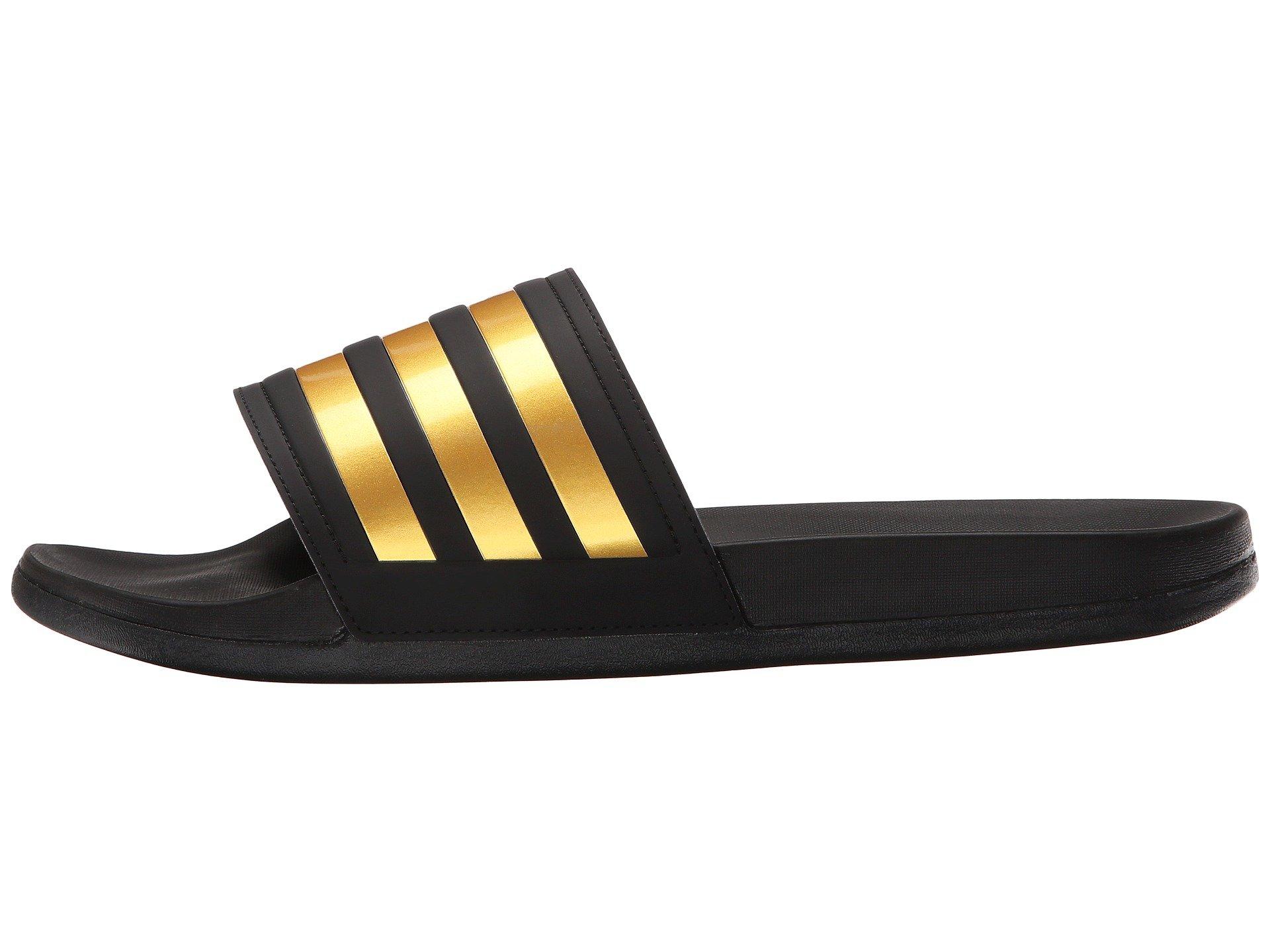 bd6545e8d71c Lyst - adidas Originals Adilette Gold M in Metallic for Men