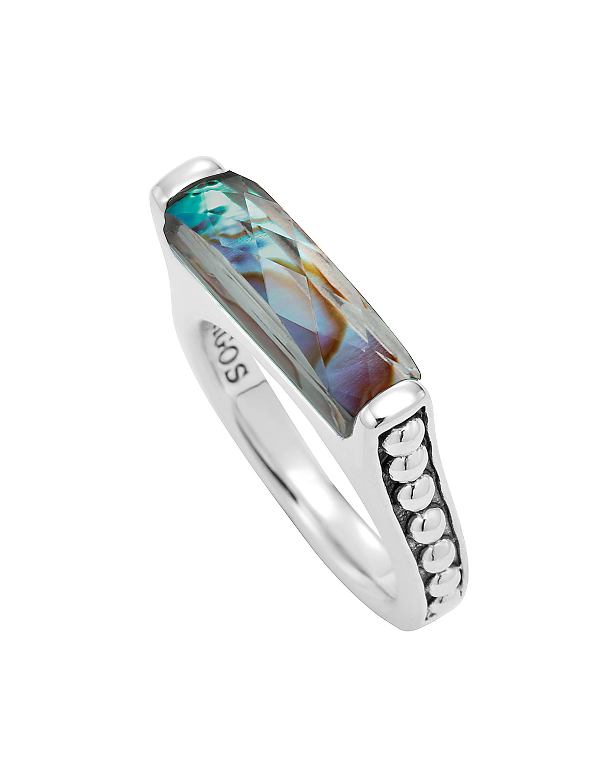 siren ring mermaid fullxfull jewelry zoom statement abalone rings negs listing il