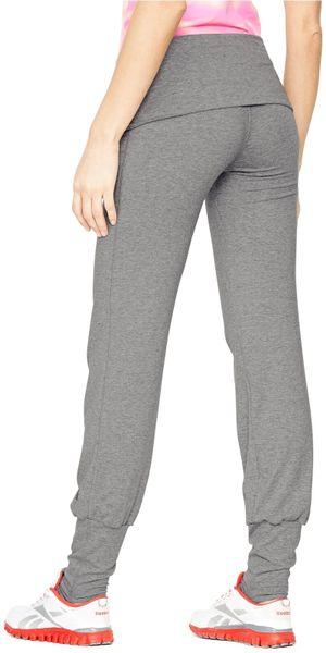 Reebok Reebok Pure Yoga Pants In Gray Grey Lyst
