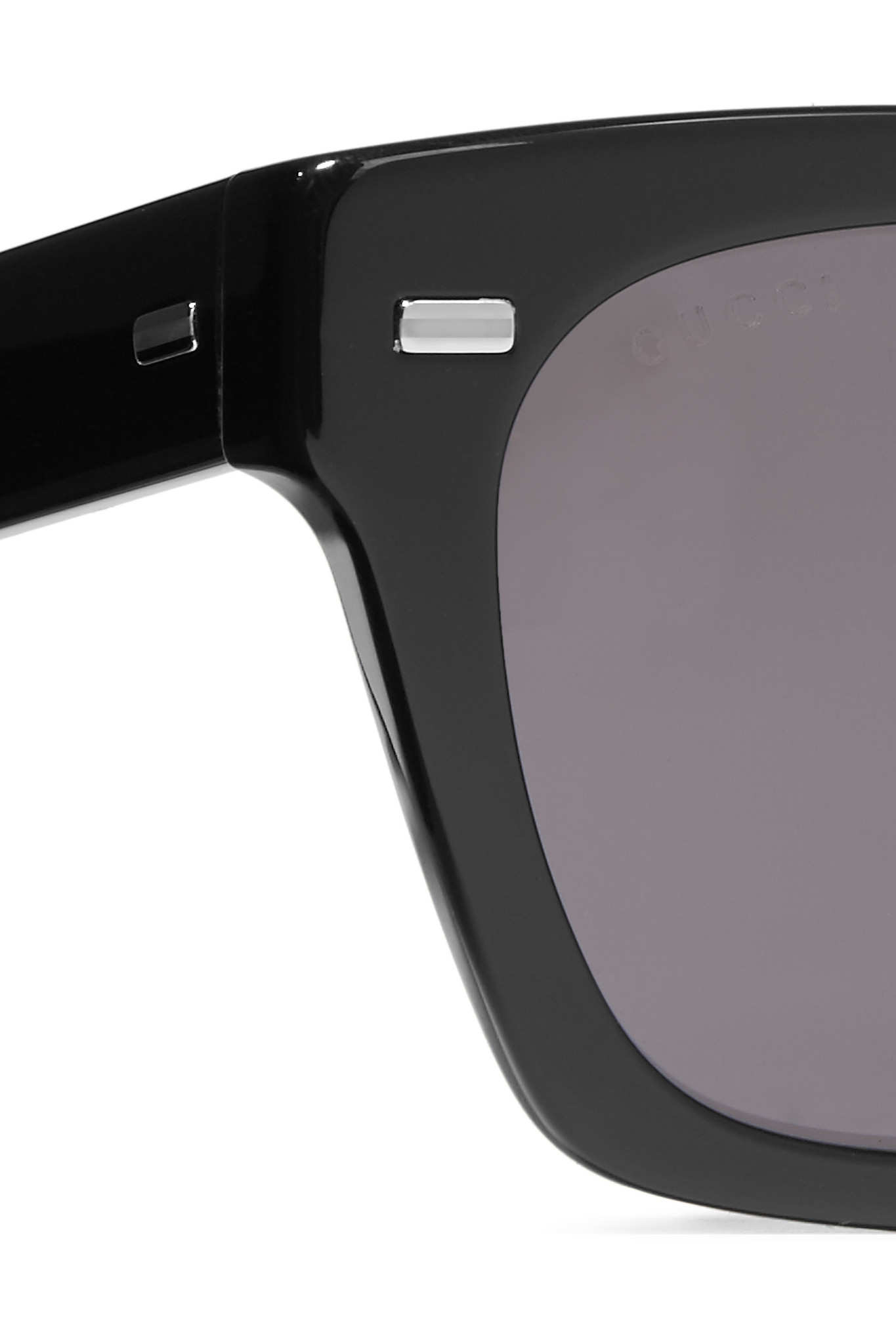 d82ba3ea689 Gucci Square-frame Acetate Sunglasses Black
