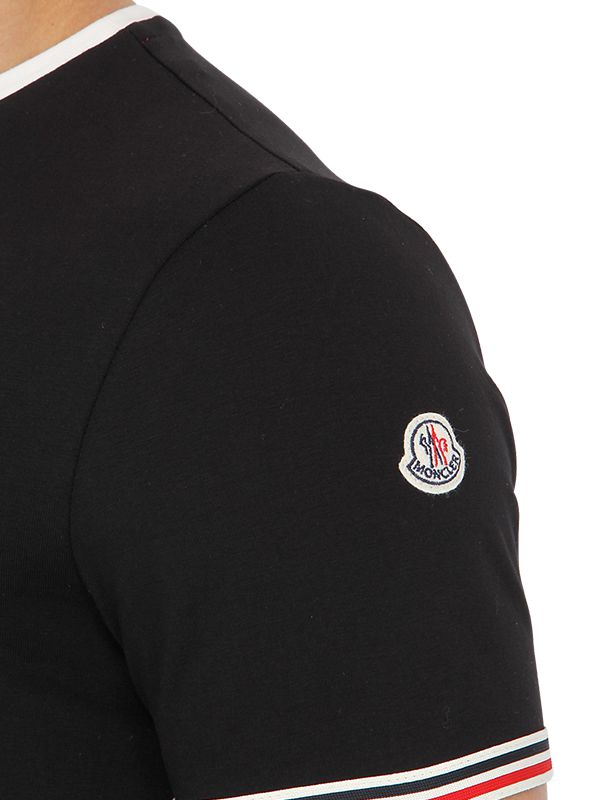 moncler black shirt