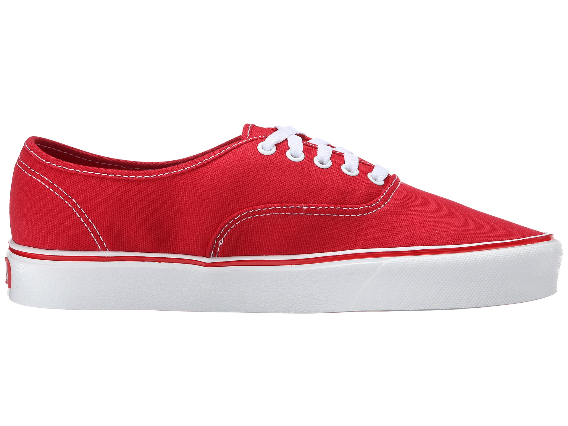 00a6724023 Lyst - Vans Authentic Lite + in Red for Men