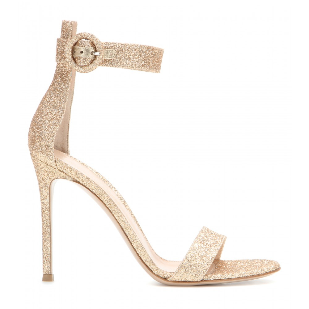 Gianvito Rossi Glitter Sandals NDeNhYwY
