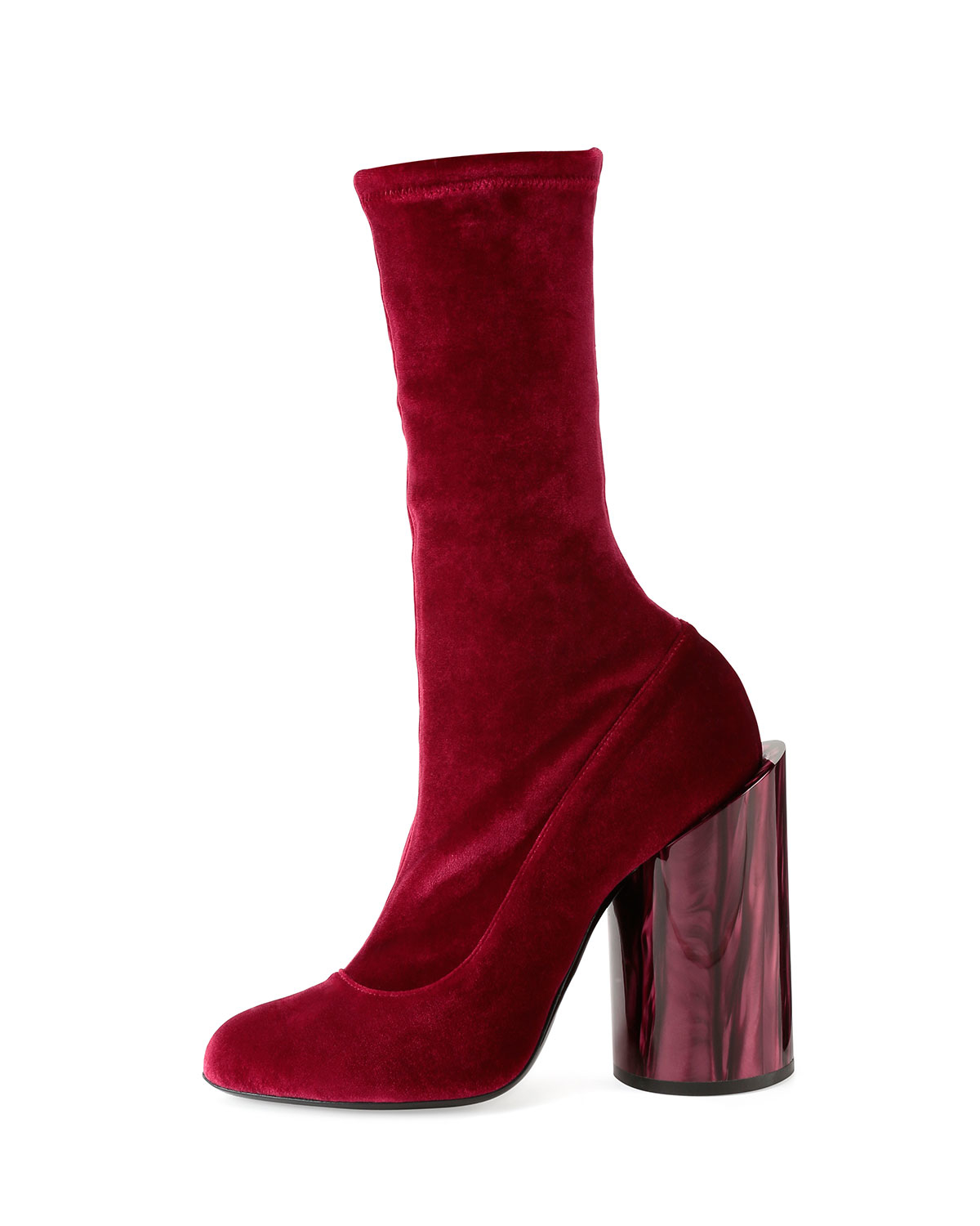 givenchy velvet of pearl show boot in lyst