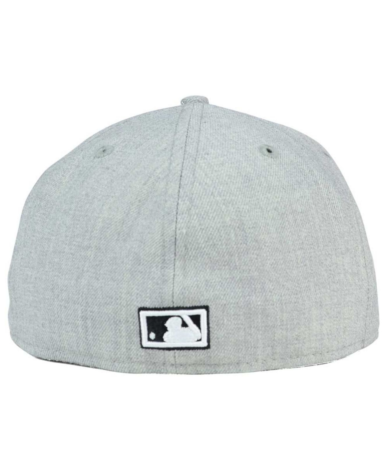 promo code a85ab c1cee ... coupon for lyst ktz seattle mariners heather black white 59fifty cap in  black a95b1 1dd99