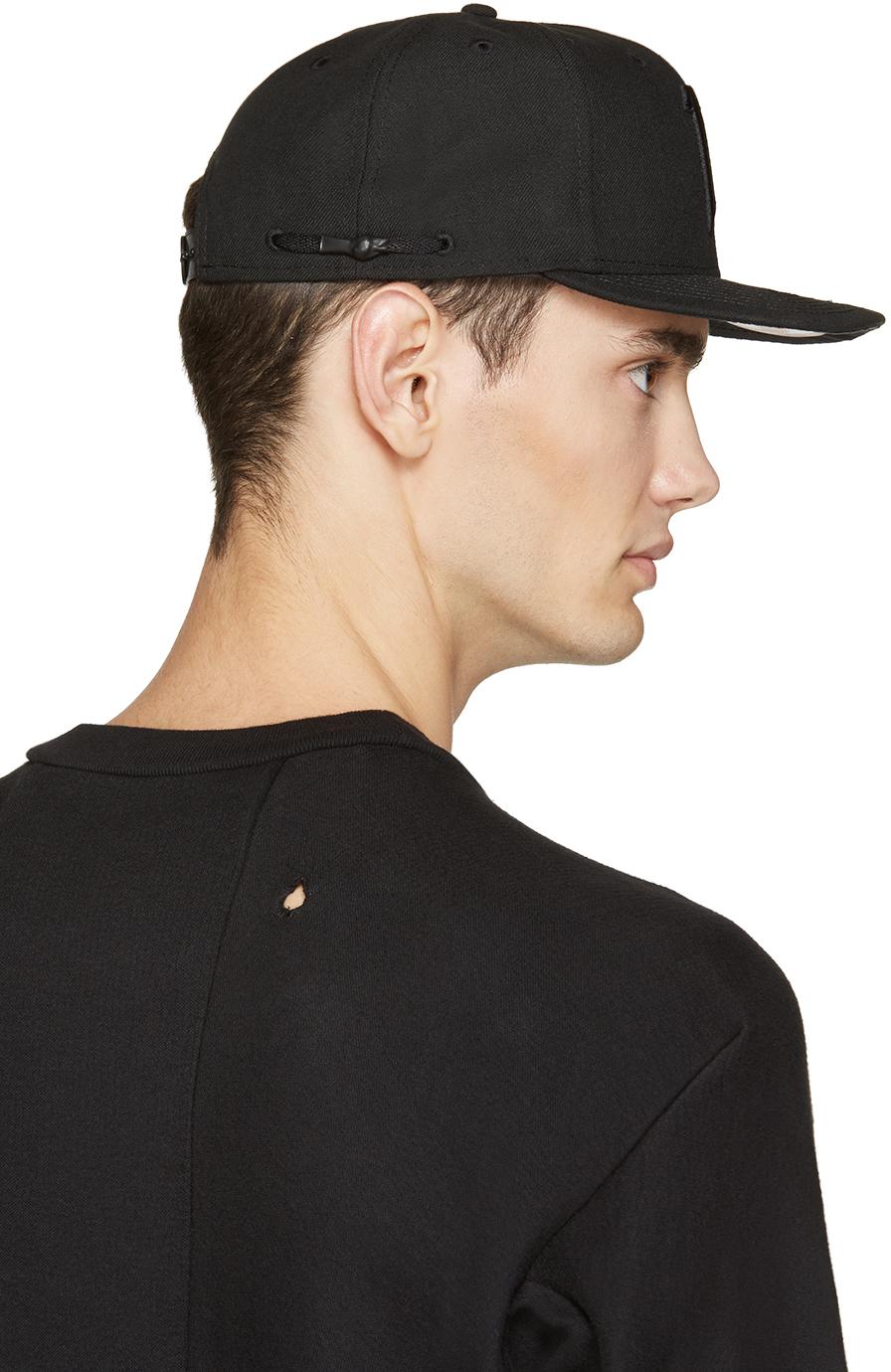 Lyst - Boris Bidjan Saberi 11 Black Logo Cap in Black for Men 194fd9dceb68