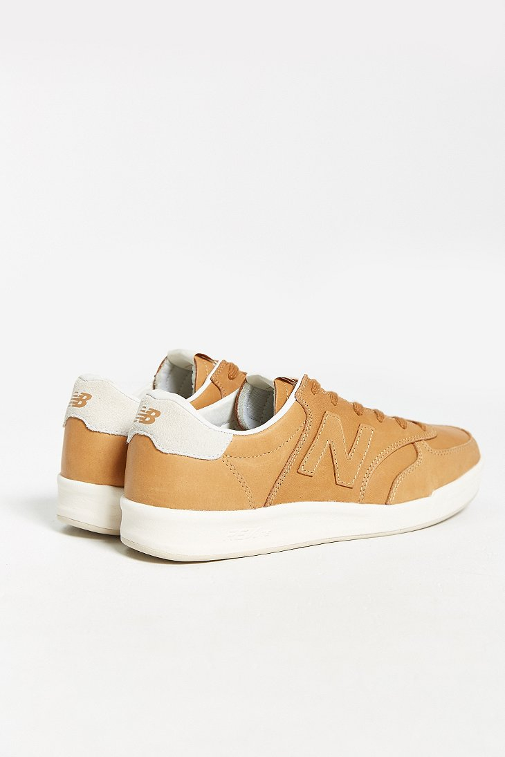 new balance court 300 leather sneaker
