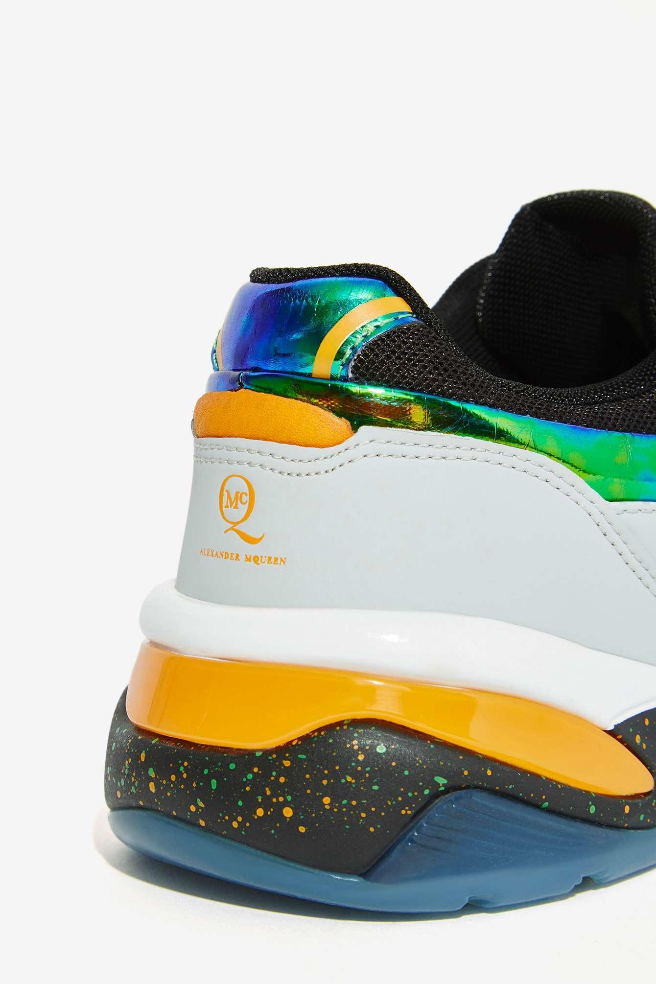 069cc6841c46 Lyst - Nasty Gal Puma X Mcq Tech Runner Lo Textured Sneaker