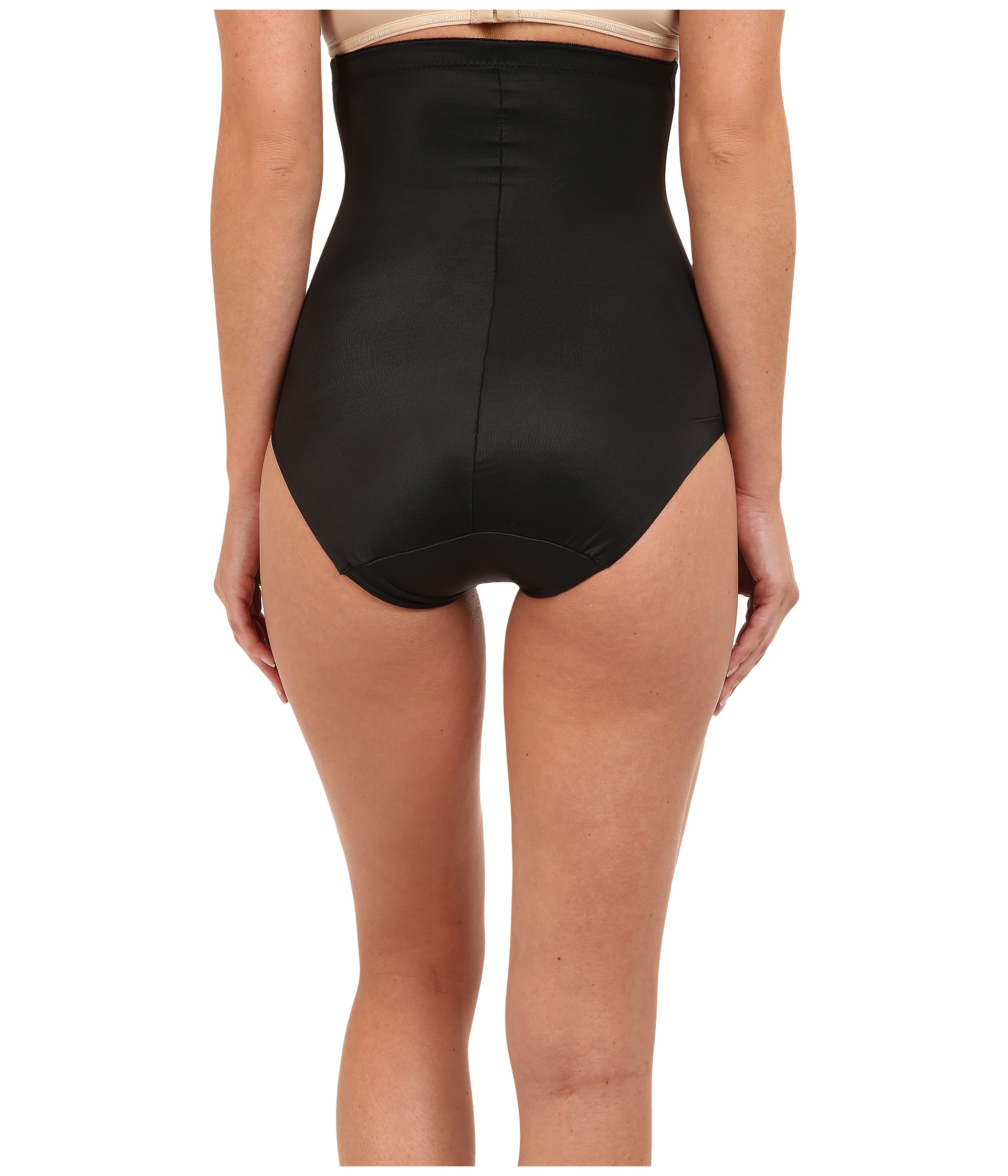 Miraclesuit Extra Firm Comfort Leg Hi Waist Brief In Black