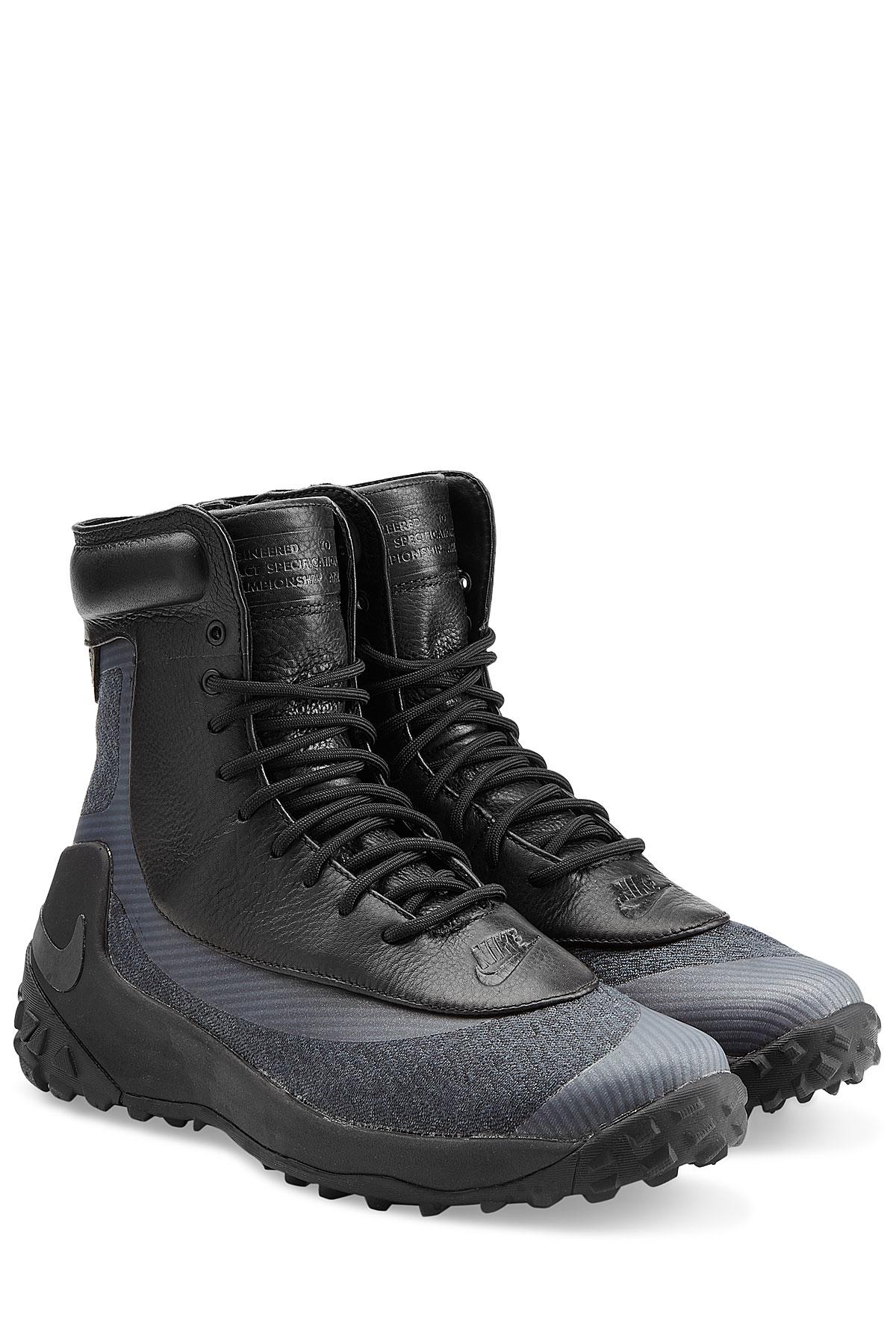 Nike Zoom Kynsi Jacquard Waterproof Boots Black In Black