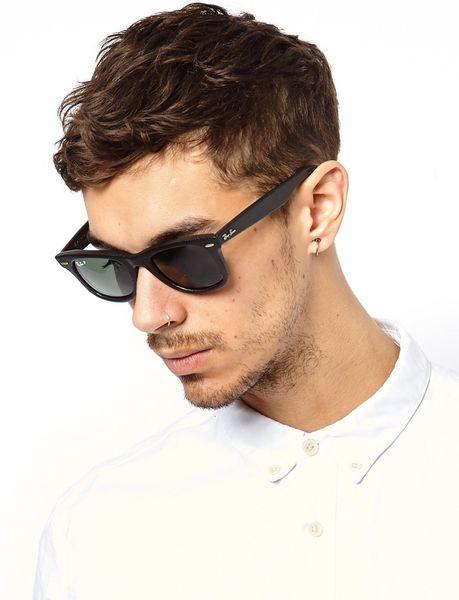 Mens Ray Ban Wayfarer Sunglasses Ray Ban Leather Wayfarer