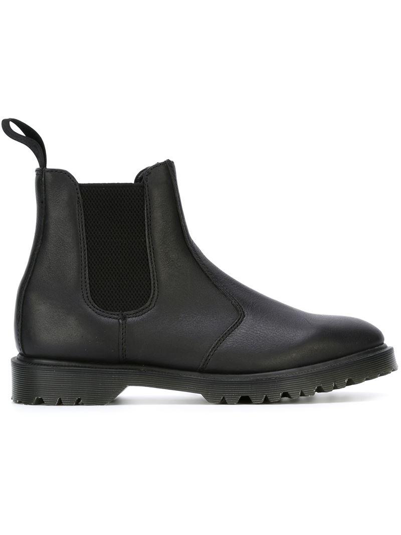 dr martens classic chelsea boots in black for men lyst. Black Bedroom Furniture Sets. Home Design Ideas