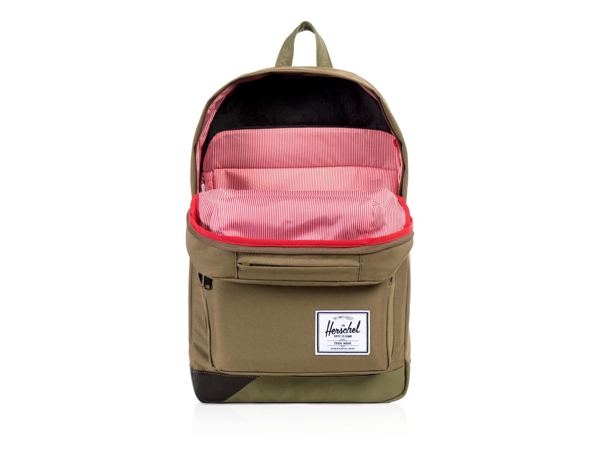 Lyst - Herschel Supply Co. Pop Quiz Backpack in Green for Men 31d2fd067dd03