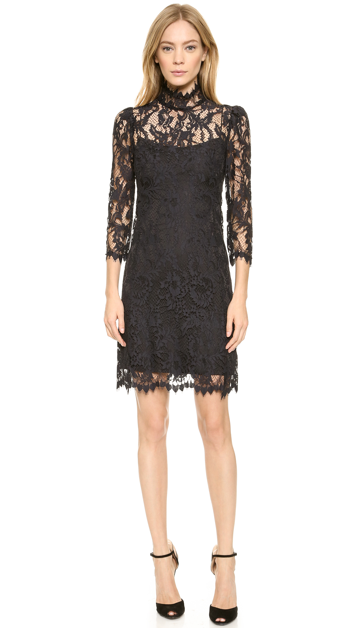 23d364ef3f Gallery. Previously sold at  Shopbop · Women s Black Cocktail Dresses ...