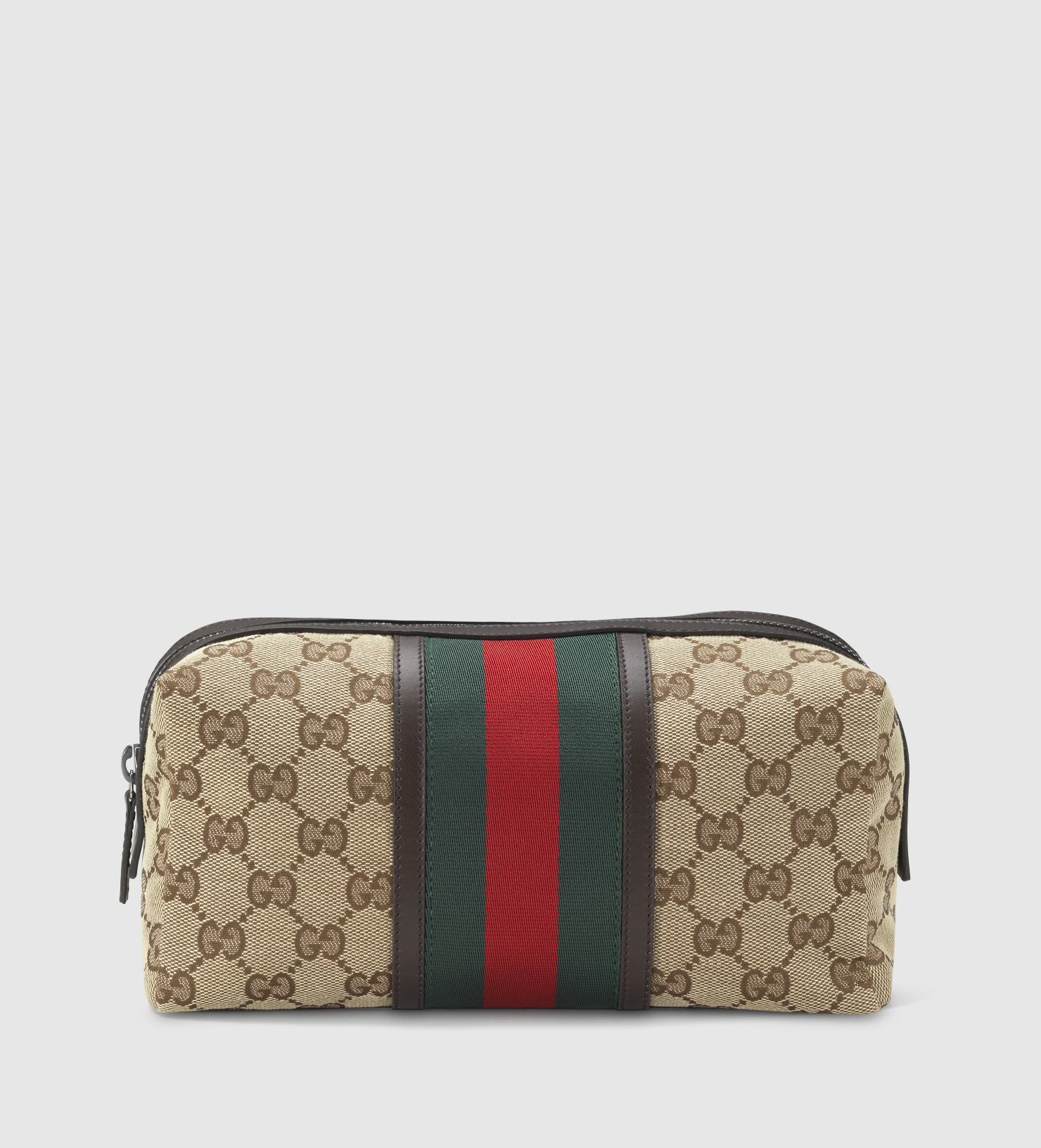 Gucci Original Gg Large Cosmetic Case In Natural Lyst