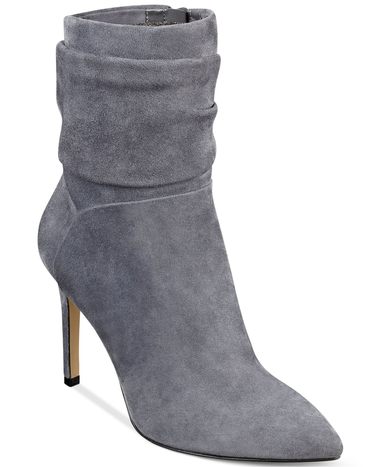 Womens Boots GUESS Dreww Pewter Leather