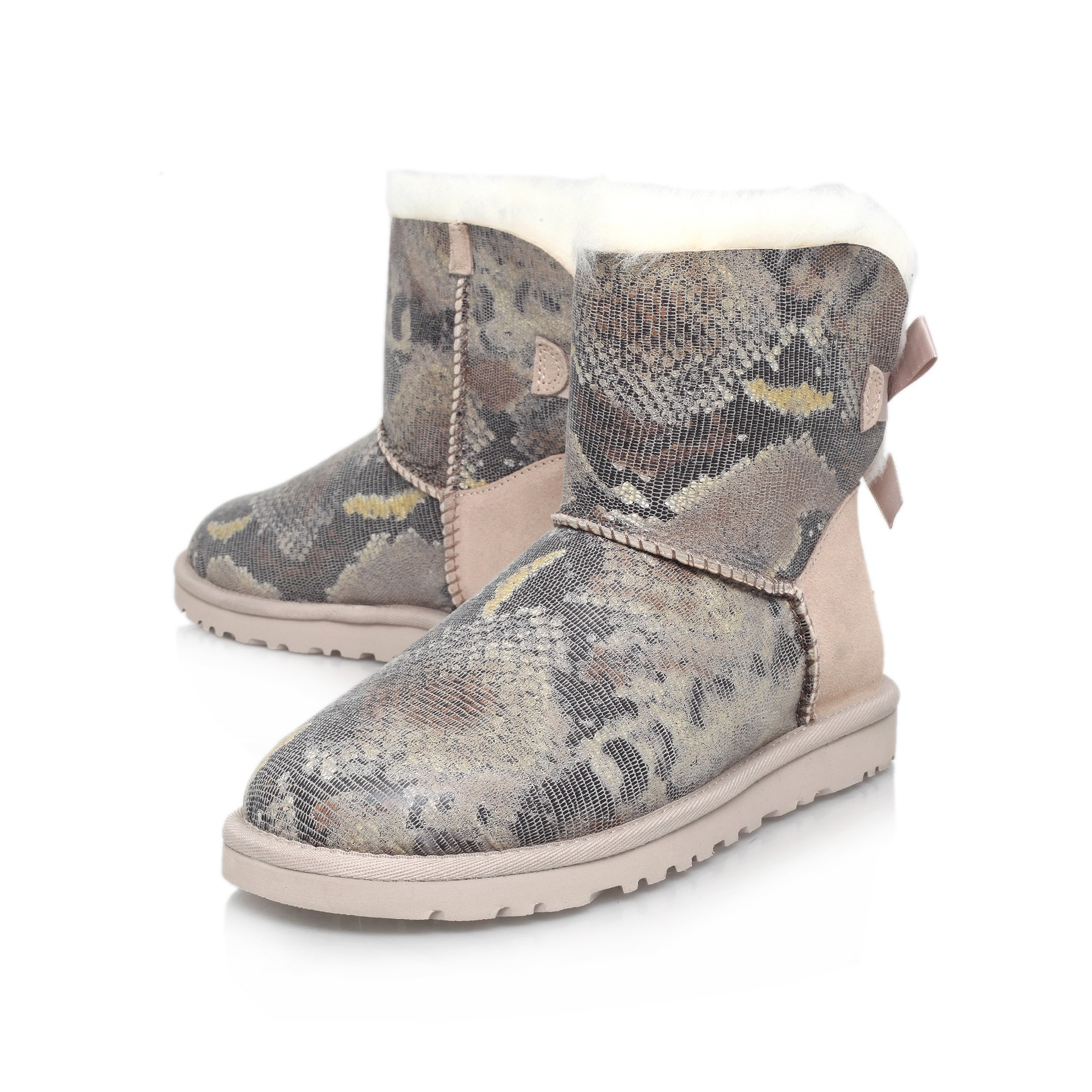 e179b912e60 new zealand ugg mini bailey bow snake b7dac 810b5