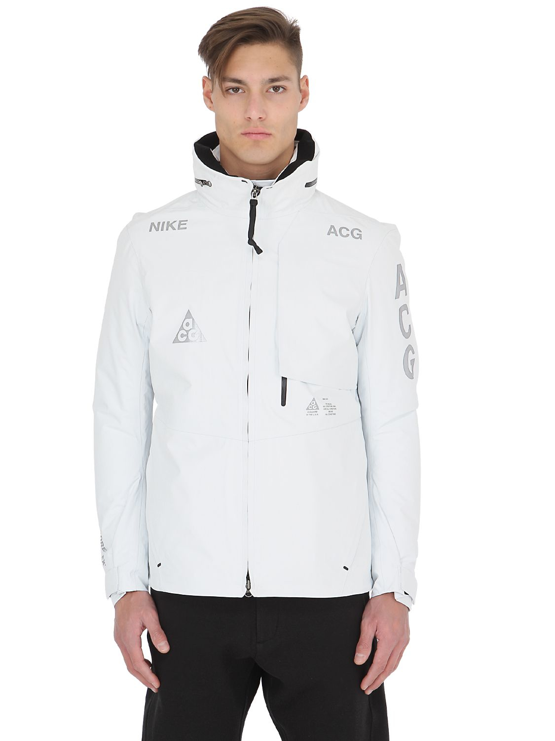 1d12a46b173f Lyst - Nike Acg Gore-tex 2 In 1 System Shell Jacket in White for Men