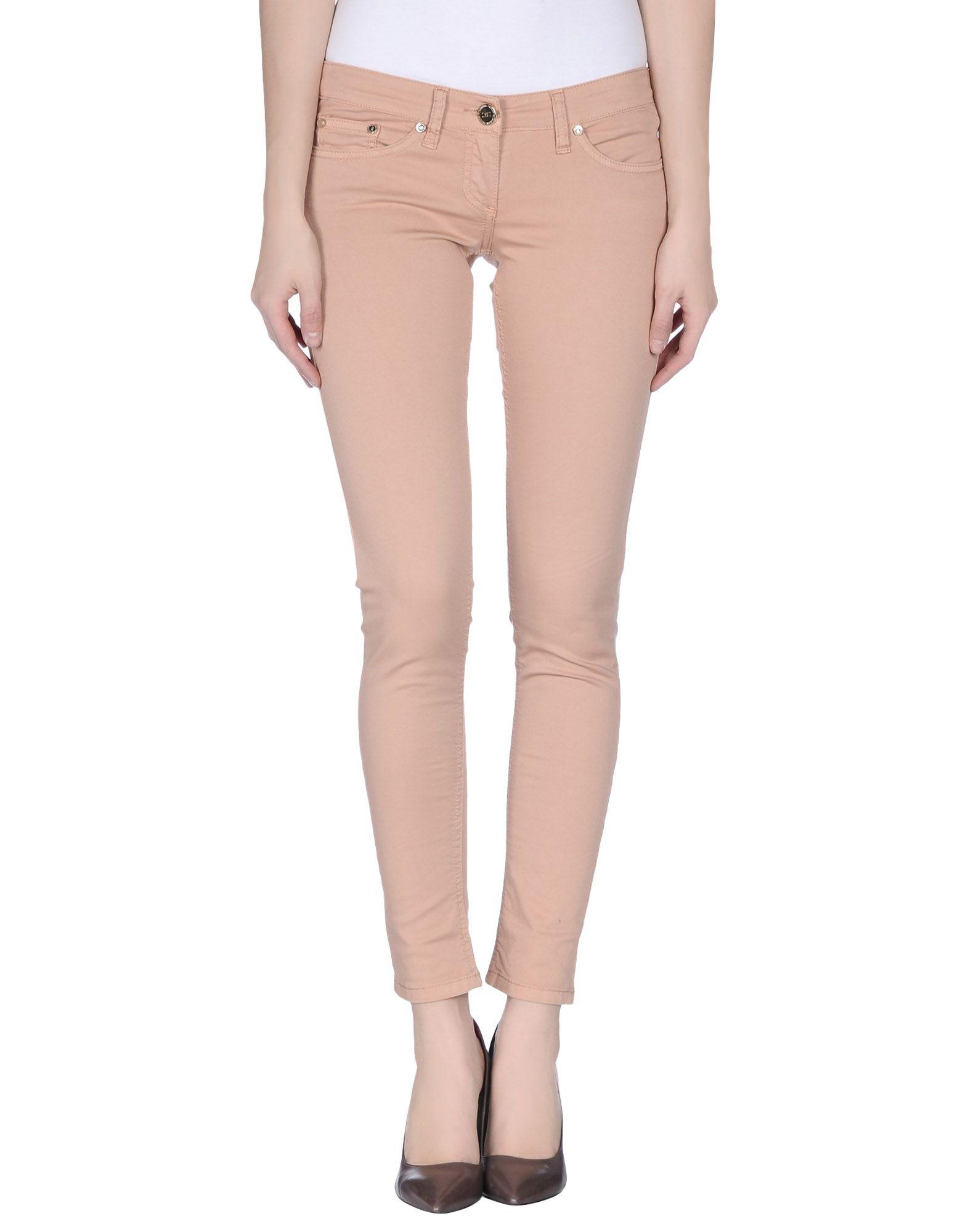 Elisabetta franchi Casual Trouser in Khaki (Skin colour) | Lyst