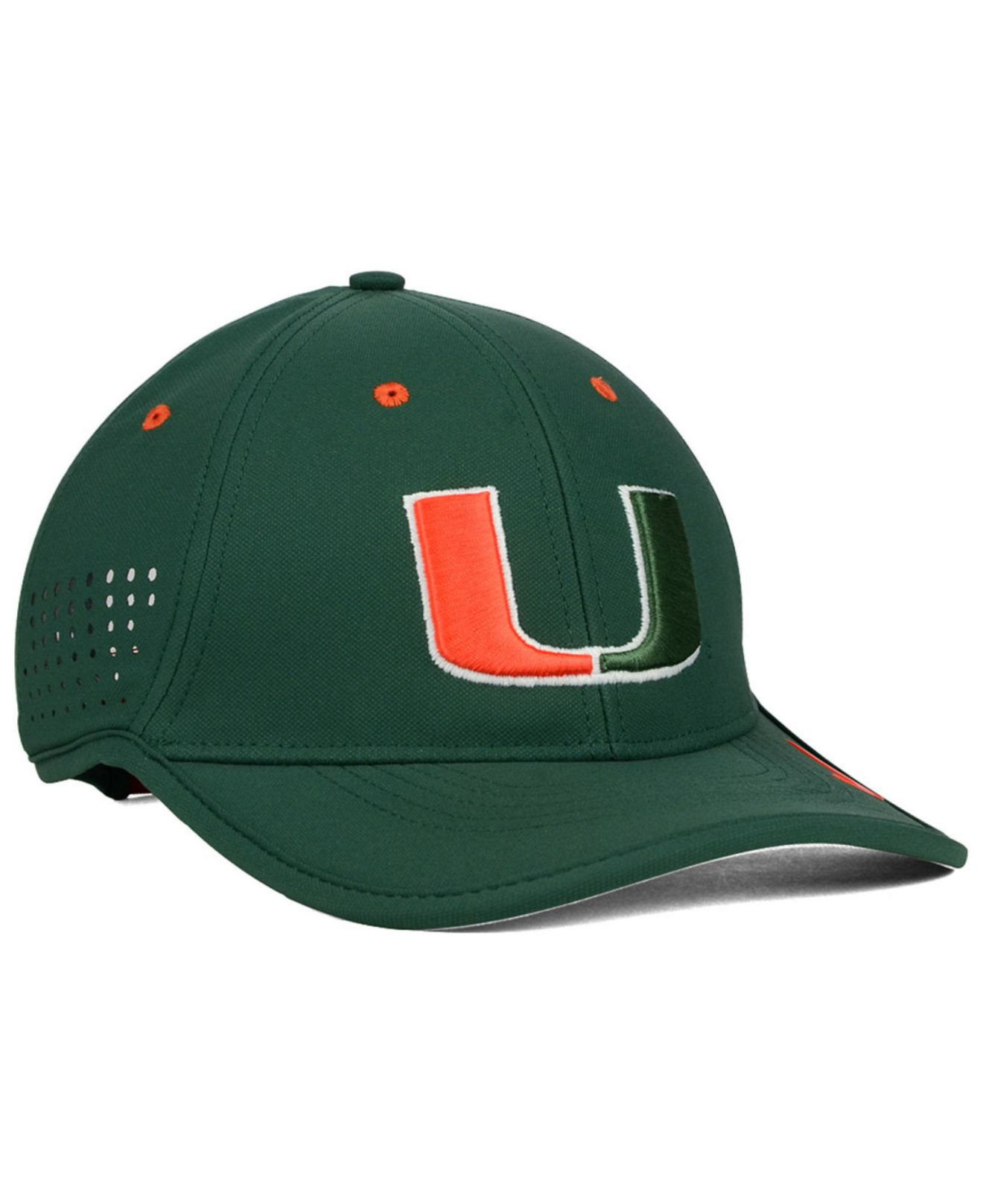 Lyst Nike Miami Hurricanes Dri Fit Coaches Cap In Green For Men 0a22473d627