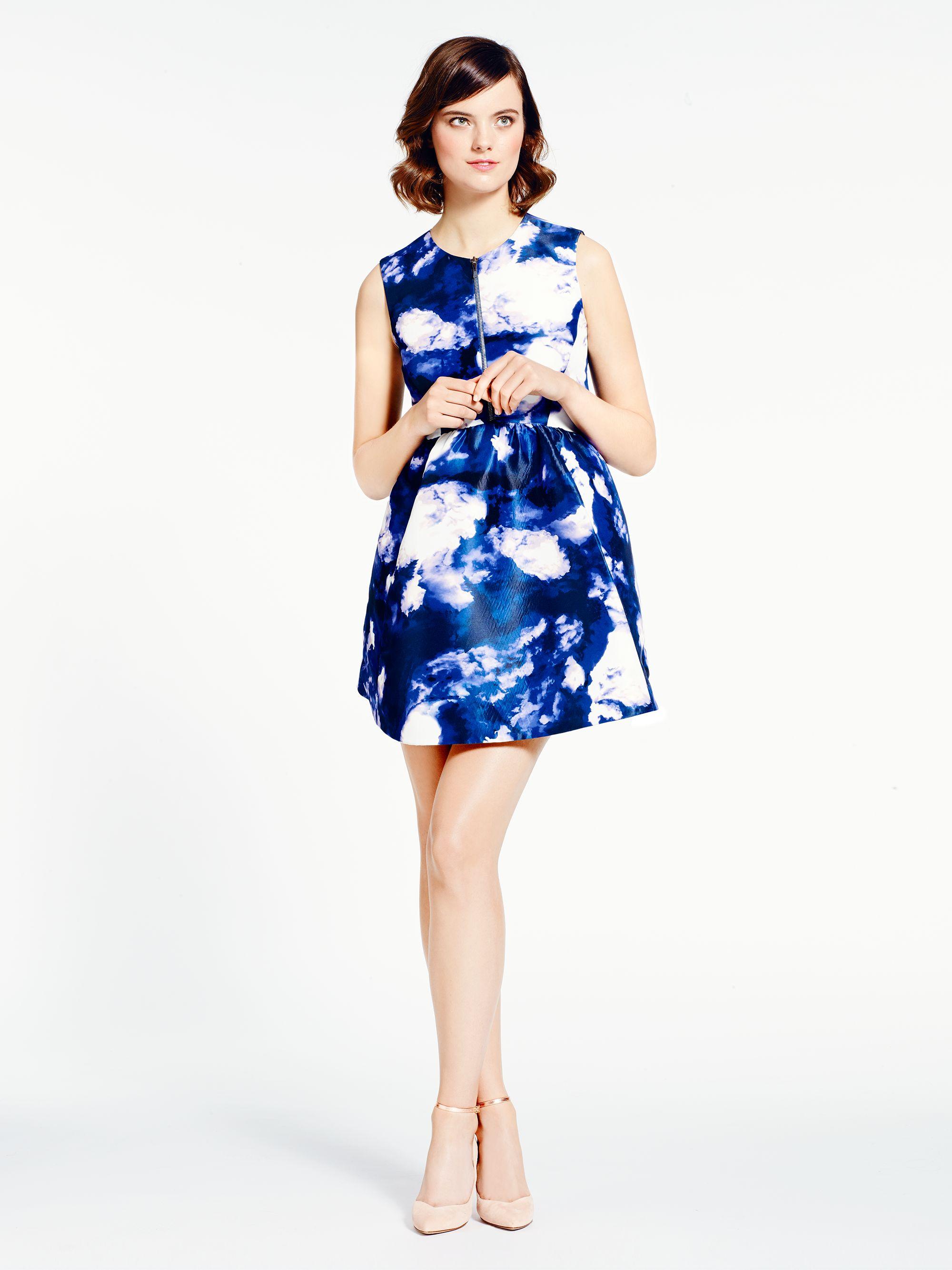 56822503c7d4 Kate Spade Joss Dress in Blue - Lyst
