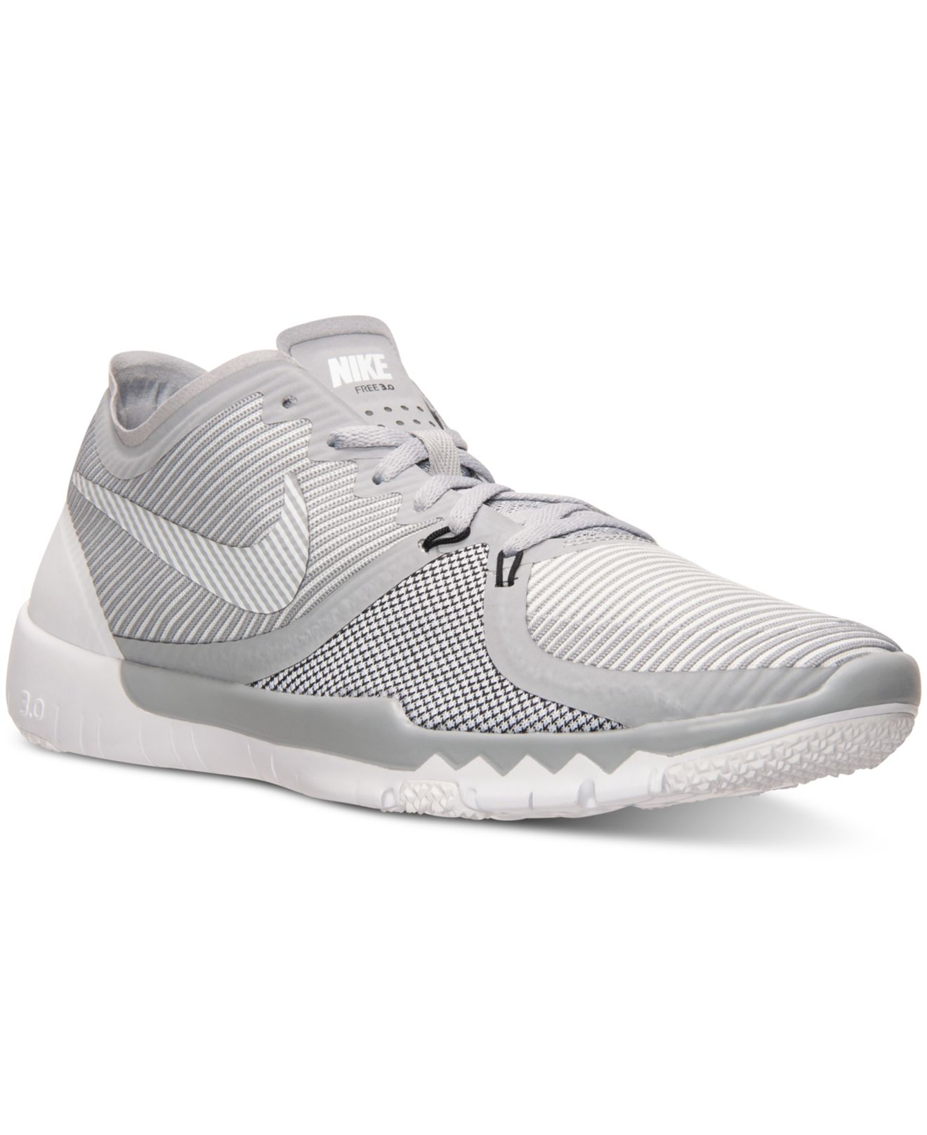 16e79fa5d6a1 ... order nike mens free trainer 3.0 v4 training sneakers from finish line  in gray for men ...