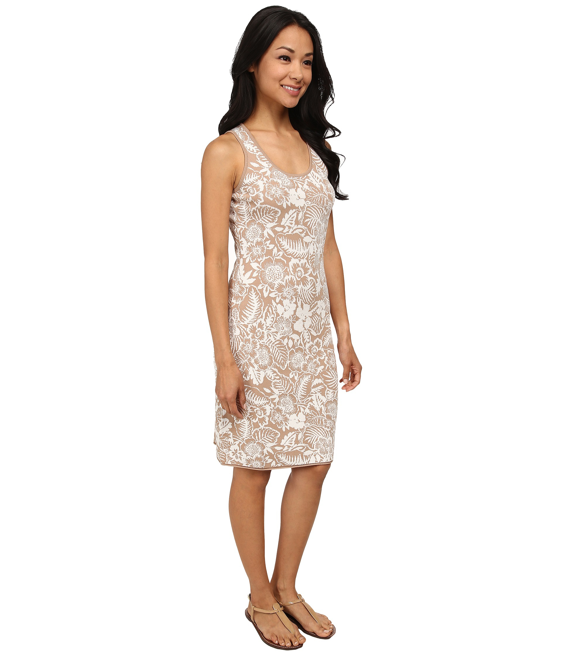 Lyst Tommy Bahama Del Lago Floral Dress In Brown