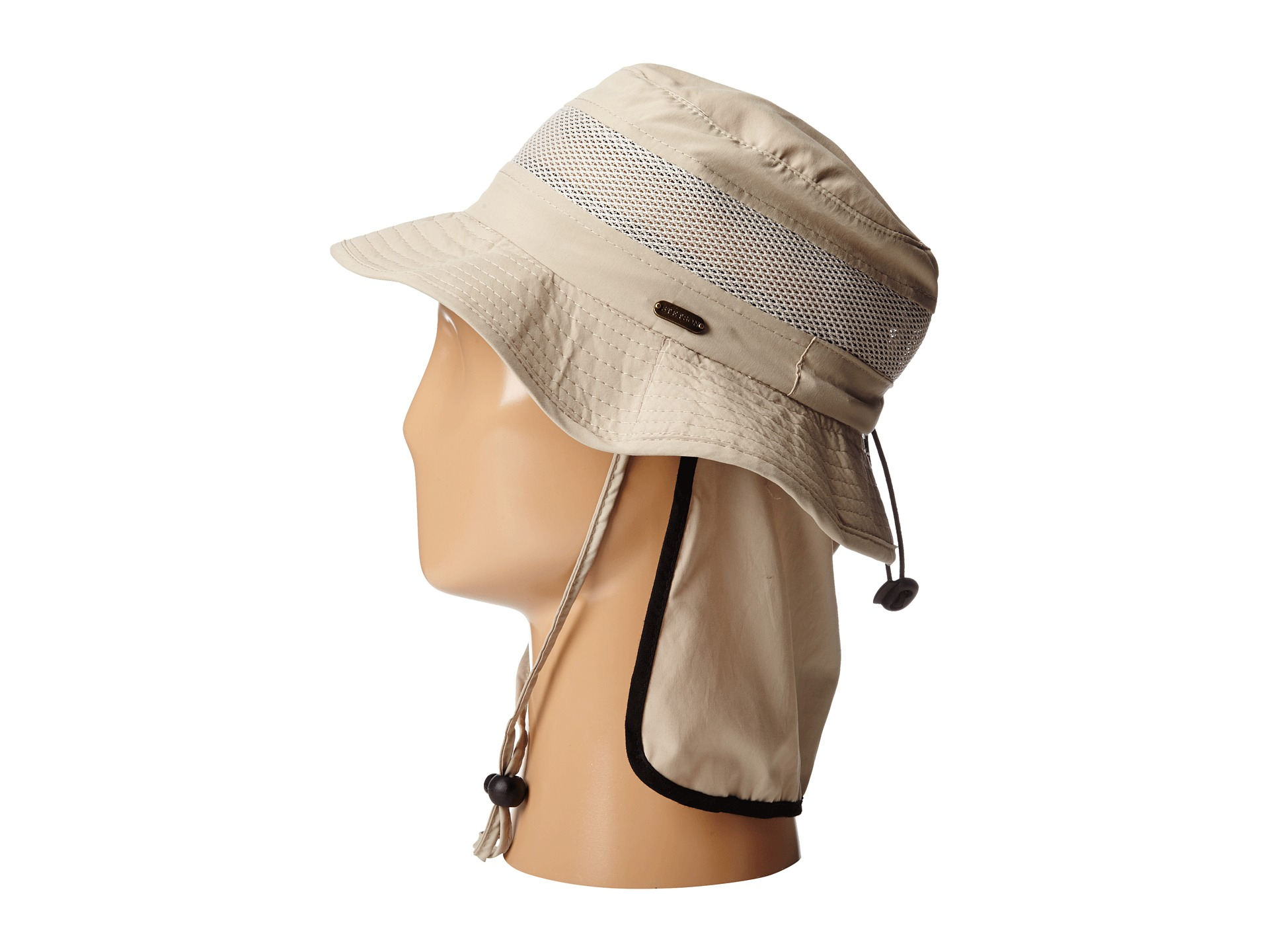 346e717460c63d Stetson Boonie With No Fly Zone Insect Shield Fabric And Neck Flap ...