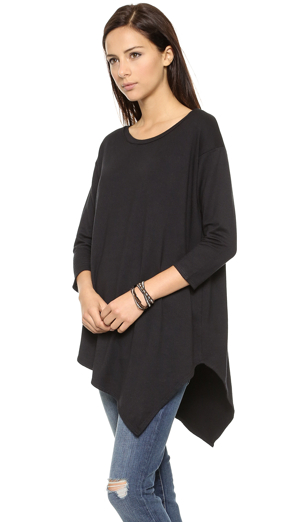 Soft joie Tammy Sweater in Black | Lyst