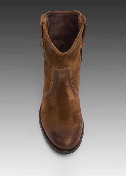 Ndc Made By Hand San Manuel Western Boot In Brown In Brown