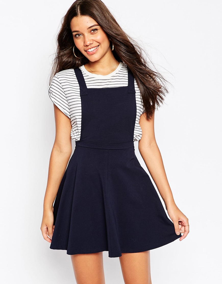Romwe Women's Straps A-line Corduroy Pinafore Bib Pocket Overall Dress. by Romwe. $ - $ $ 9 $ 17 99 Prime. FREE Shipping on eligible orders. Some sizes/colors are Prime eligible. out of 5 stars HaoDuoYi Women's Classic Overall Suspender A Line Pleated Mini Dress. by HaoDuoYi.