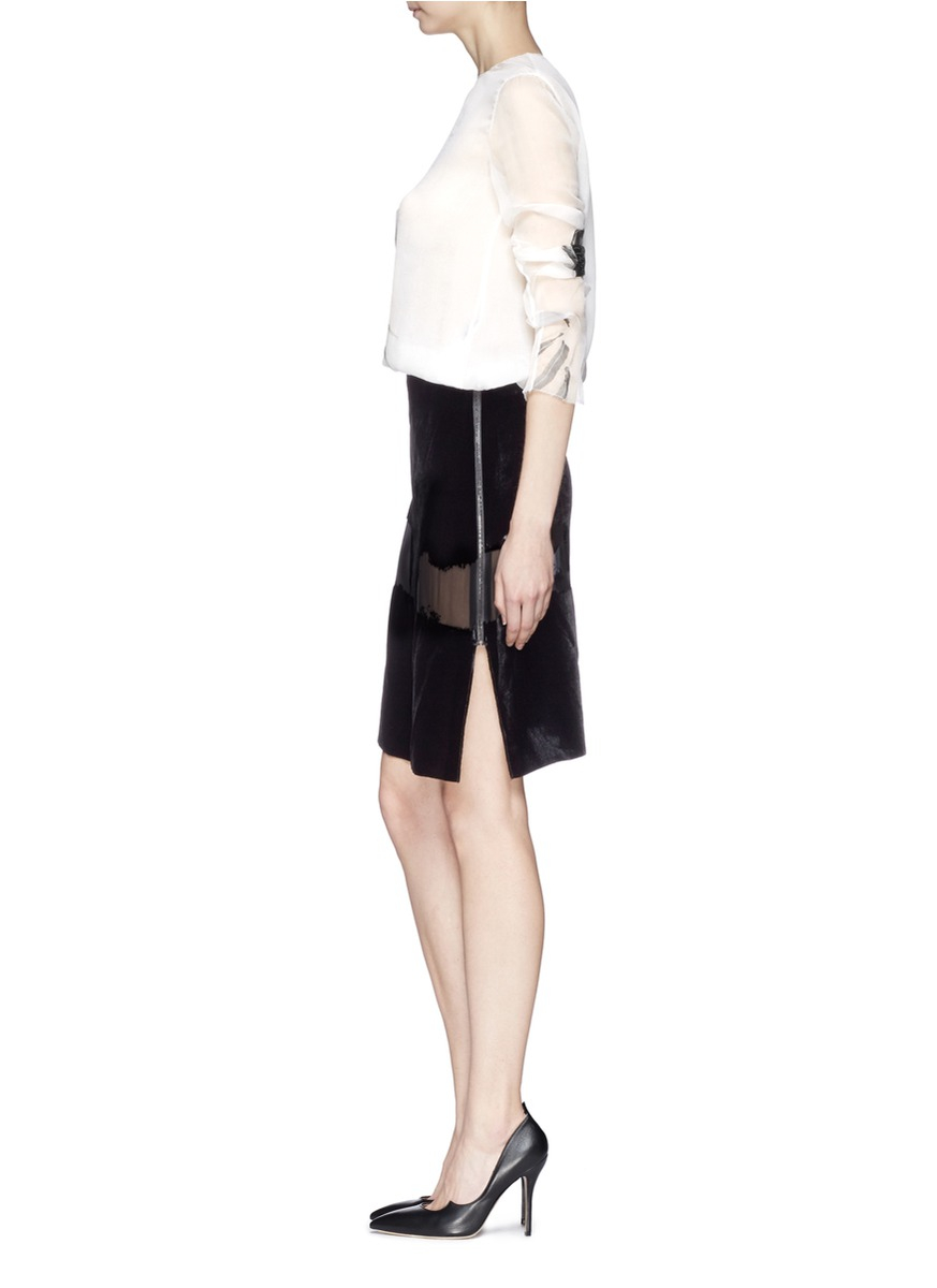 ms white White house black market offers polished black and white women's clothing with pops of color and patterns shop tailored dresses, tops, pants and accessories.